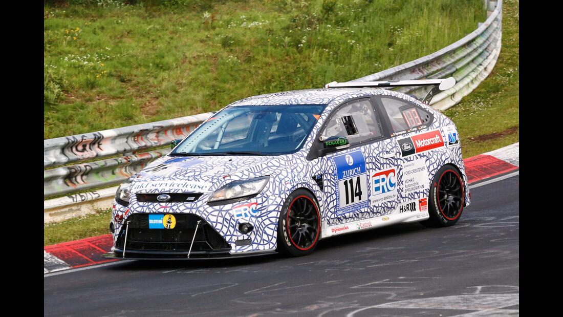 24h-Nürburgring - Nordschleife - Ford Focus RS - OVR Racing - Klasse AT - Startnummer #114