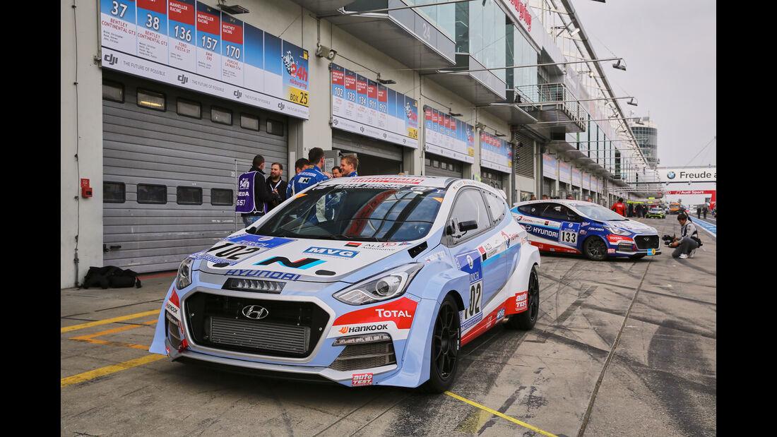 24h-Nürburgring - Nordschleife - Hyundai i30 2,0T - Hyundai Motor Deutschland GmbH - Klasse SP 3T - Startnummer #102