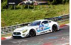 24h-Nürburgring - Nordschleife - Mercedes-AMG GT3 - AMG - Team Black Falcon - Klasse SP 9 - Startnummer #4