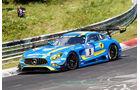 24h-Nürburgring - Nordschleife - Mercedes-AMG GT3 - AMG - Team Black Falcon - Klasse SP 9 - Startnummer #9