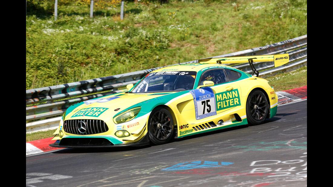 24h-Nürburgring - Nordschleife - Mercedes-AMG GT3 - Mann Filter Team Zakspeed - Klasse SP 9 - Startnummer #75