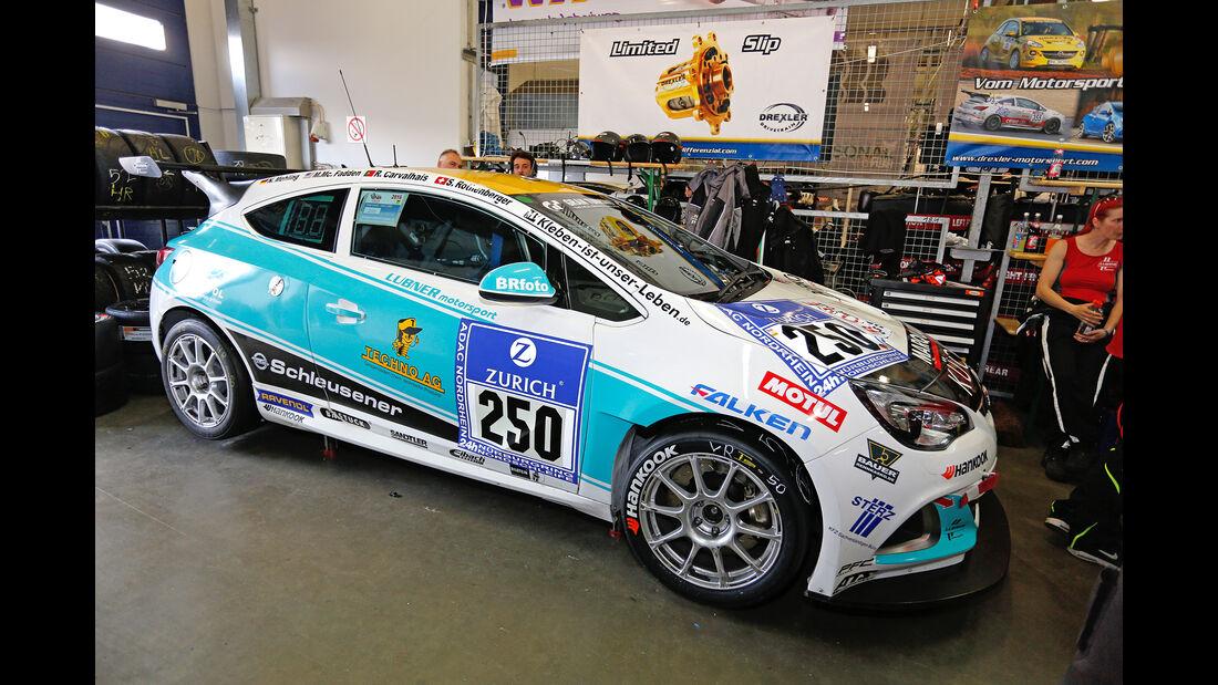24h-Nürburgring - Nordschleife - Opel Astra OPC Cup - Lubner Motorsport - Klasse Cup 1 - Startnummer #250