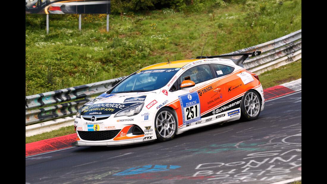 24h-Nürburgring - Nordschleife - Opel Astra OPC Cup - Lubner Motorsport - Klasse Cup 1 - Startnummer #251