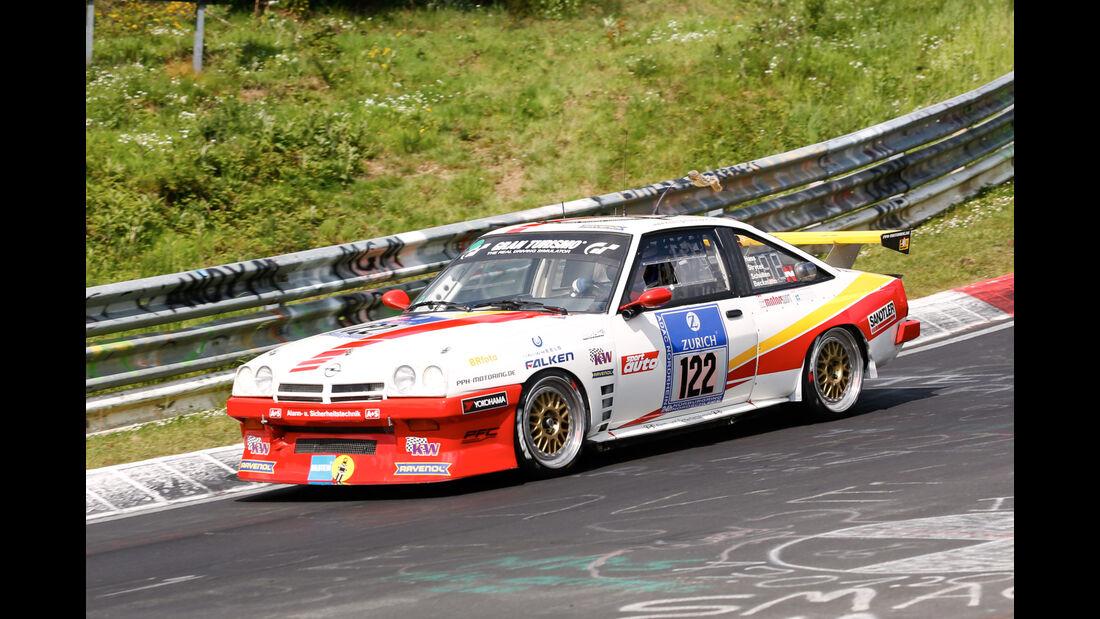 24h-Nürburgring - Nordschleife - Opel Manta - Kissling Motorsport - Klasse SP 3 - Startnummer #122