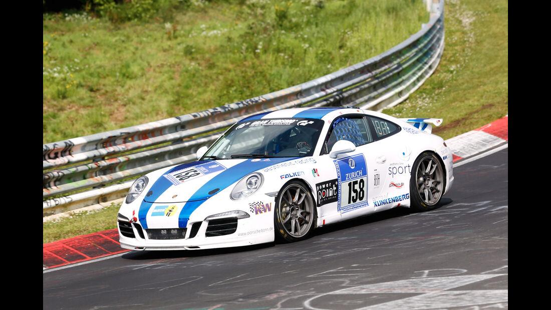 24h-Nürburgring - Nordschleife - Porsche 911/991 - aesthetic racing -  Klasse V 6 - Startnummer #158