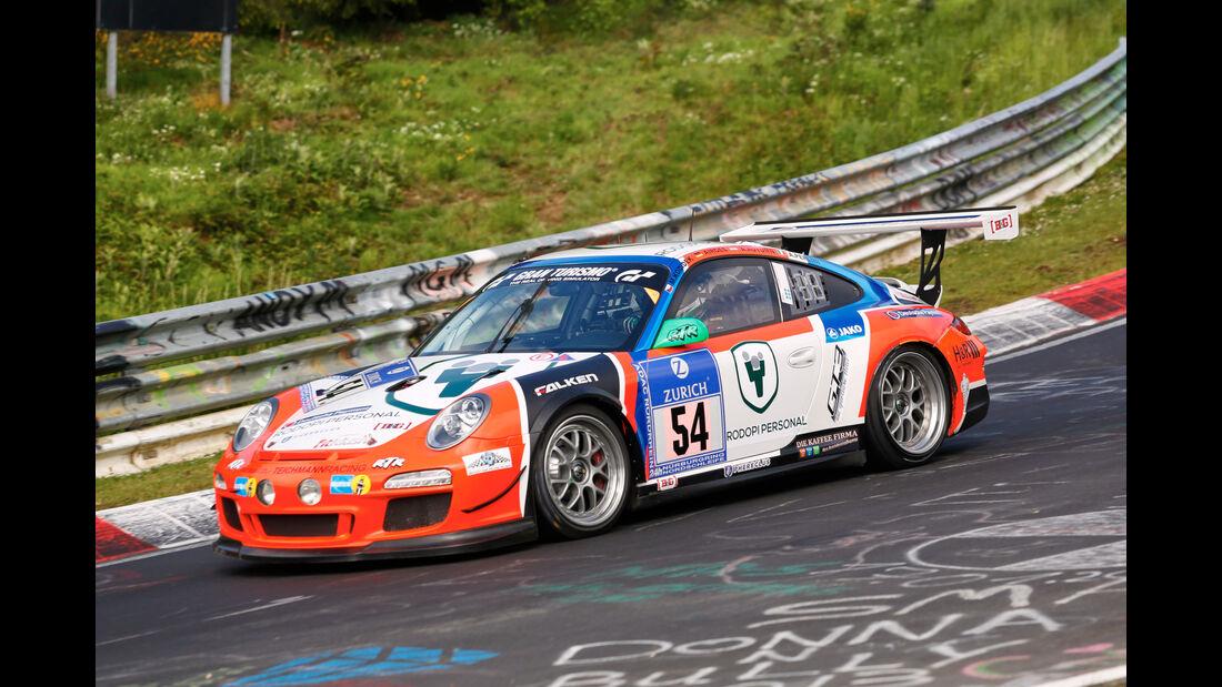 24h-Nürburgring - Nordschleife - Porsche 911 GT3 CUP - raceunion Teichmann Racing Sponsor: MSC Adenau e. V. im ADAC - Klasse SP 7 - Startnummer #54