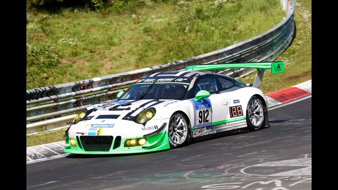 24h-Nürburgring - Nordschleife - Porsche 911 GT3 R - Manthey Racing - Klasse SP 9 - Startnummer #912