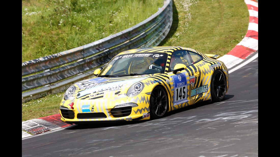 24h-Nürburgring - Nordschleife - Porsche 911 - Speedworxx Racing - Klasse V 6 - Startnummer #145