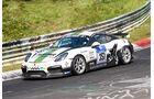 24h-Nürburgring - Nordschleife - Porsche 981 Cayman GT4 CS - Black Falcon Team TMD Friction - Klasse Cup 3 - Startnummer #351