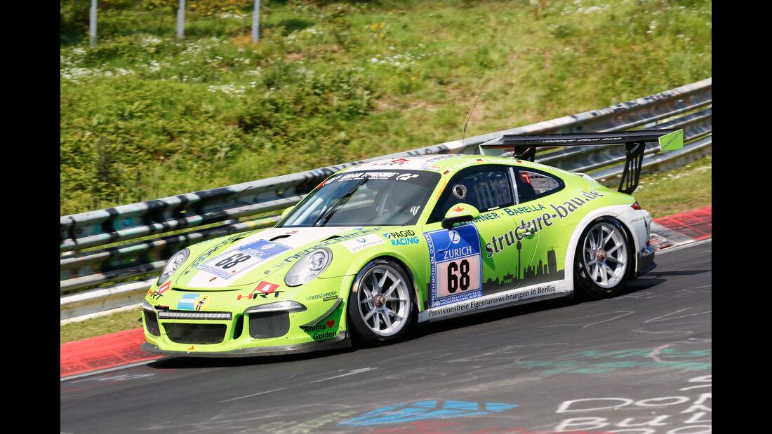 24h-Nürburgring - Nordschleife - Porsche 991 GT3 - HRT Performance - Klasse SP 7 - Startnummer #68