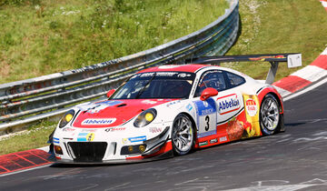 24h-Nürburgring - Nordschleife - Porsche 991 GT3 R - Frikadelli Racing Team - Klasse SP 9 - Startnummer #3