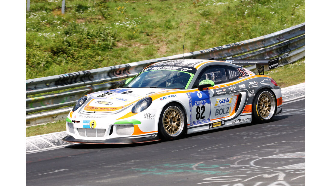 24h-Nürburgring - Nordschleife - Porsche Cayman Pro4 - Prosport-Performance GmbH - Klasse SP 6 - Startnummer #82