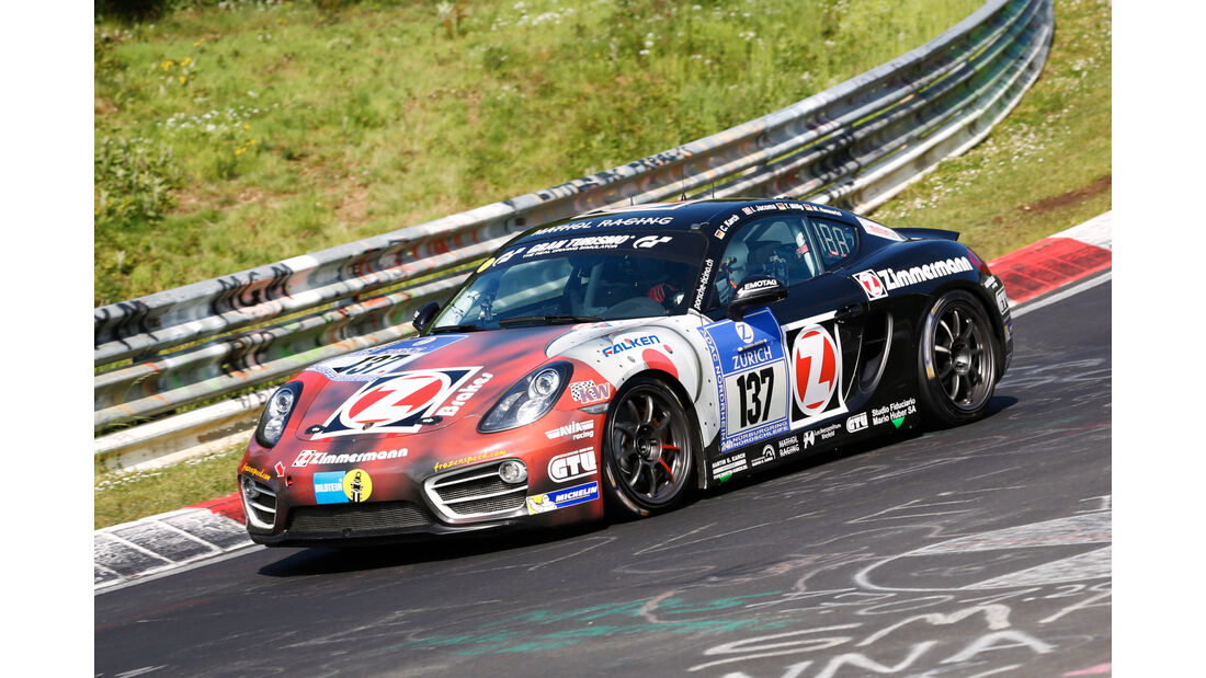 24h-Nürburgring - Nordschleife - Porsche Cayman S - Team Mathol Racing e. V. - Klasse V 6 - Startnummer #137