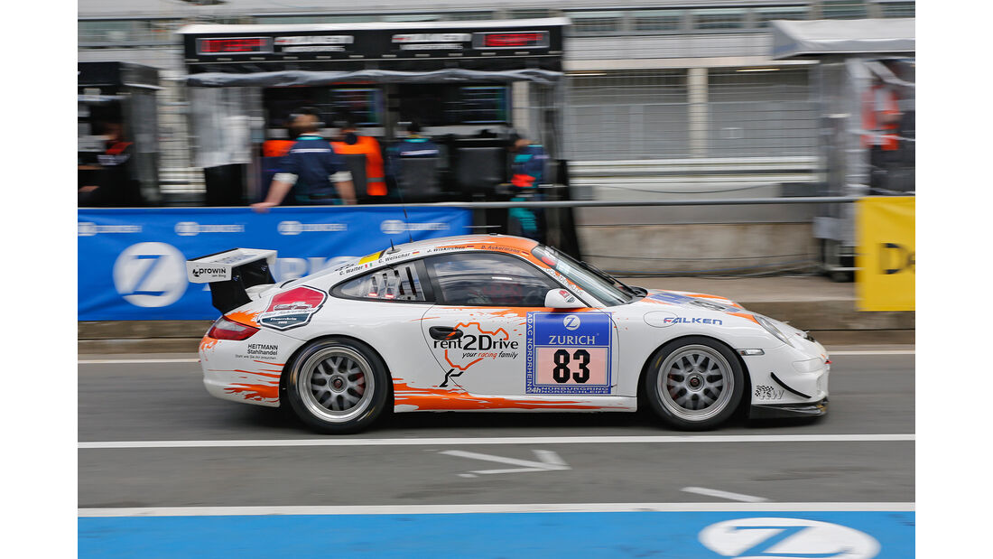 24h-Nürburgring - Nordschleife - Porsche GT3 Cup - rent2Drive-racing - Klasse SP 6 - Startnummer #83