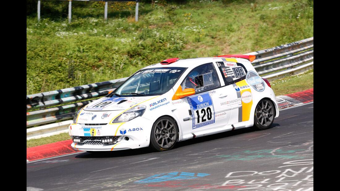 24h-Nürburgring - Nordschleife - Renault Clio RS Cup - Schlaug Motorsport - Klasse SP 3 - Startnummer #120