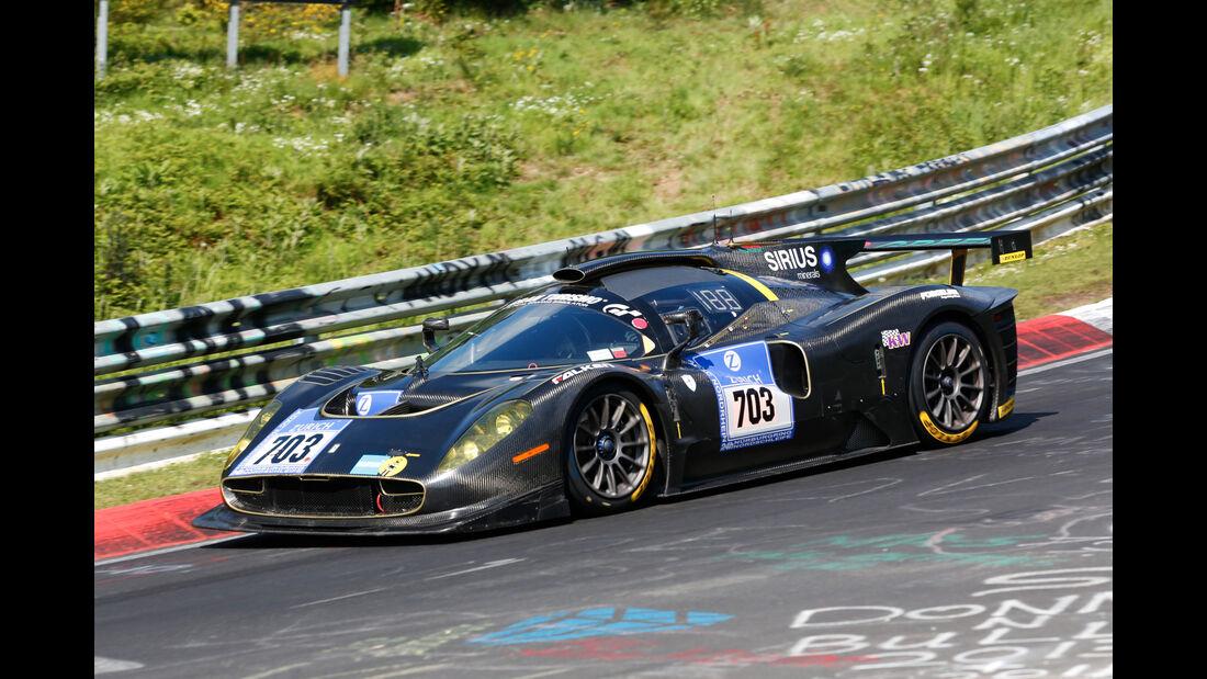 24h-Nürburgring - Nordschleife - SCG P4/5 Competizione M16 - Scuderia Cameron Glickenhaus - Klasse E1-XP - Startnummer #703
