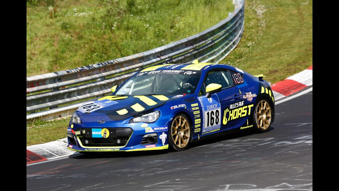 24h-Nürburgring - Nordschleife - Subaru BRZ - Klasse V 3 - Startnummer #168