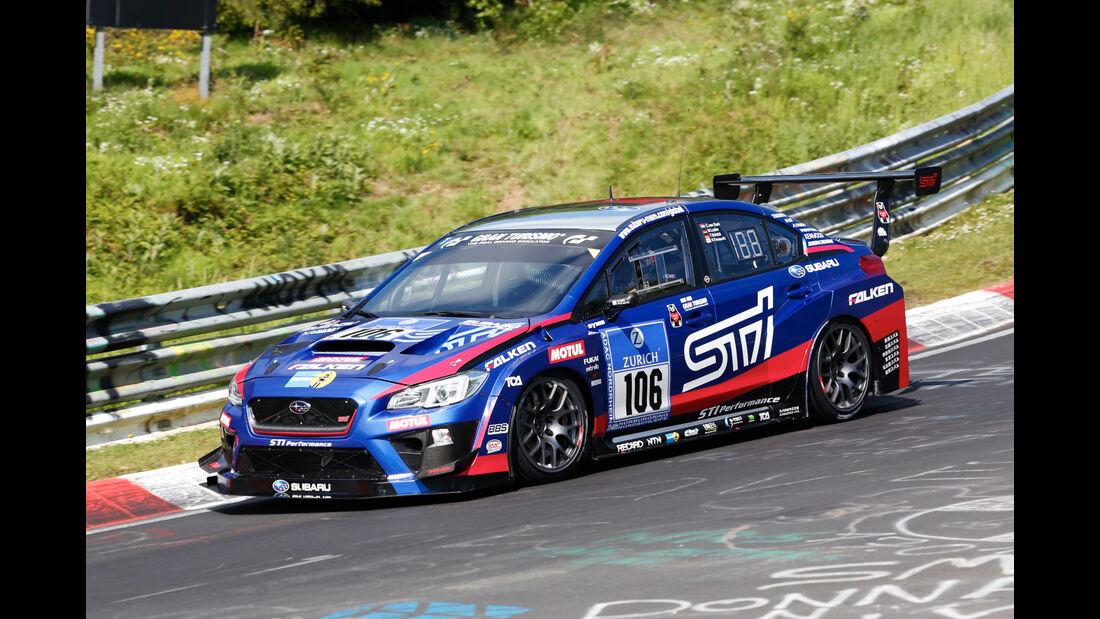 24h-Nürburgring - Nordschleife - Subaru WRX STI - Subaru Tecnica International - Klasse SP 3T - Startnummer #106