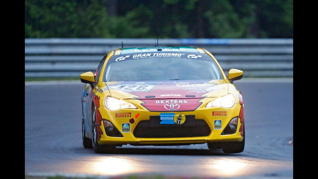 24h-Nürburgring - Nordschleife - Toyota GT86 - Pit Lane - AMC Sankt Vith - Klasse SP 3 - Startnummer #126