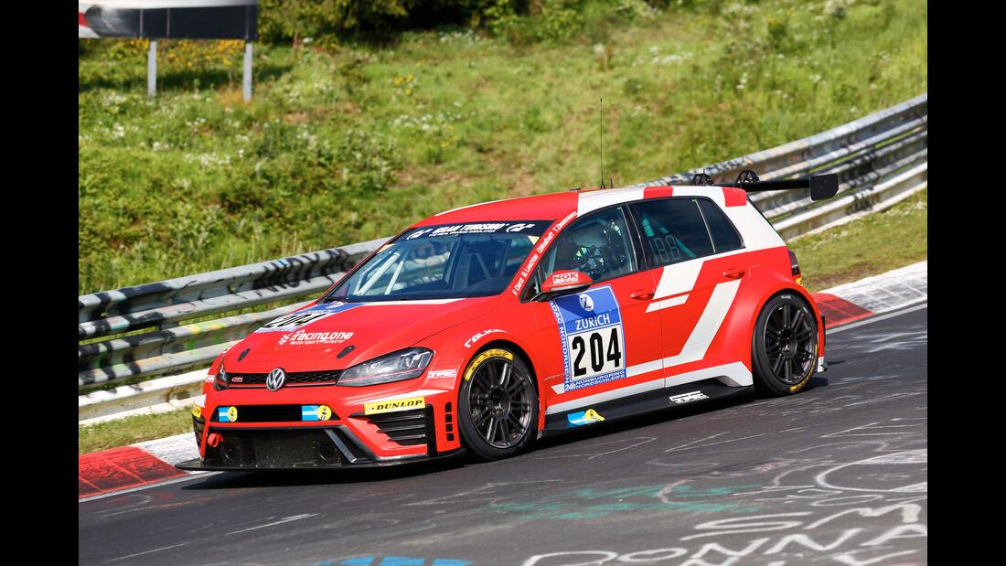 24h-Nürburgring - Nordschleife - Volkswagen GTI TCR - racing One GmbH - Klasse TCR - Startnummer #204