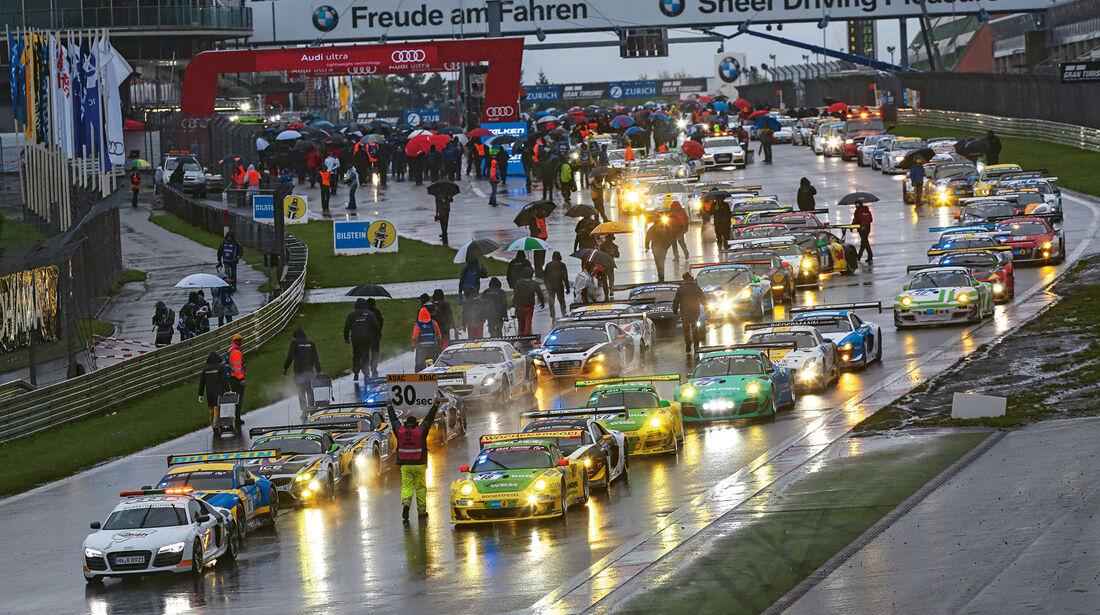 24h-Nürburgring, Rennstart