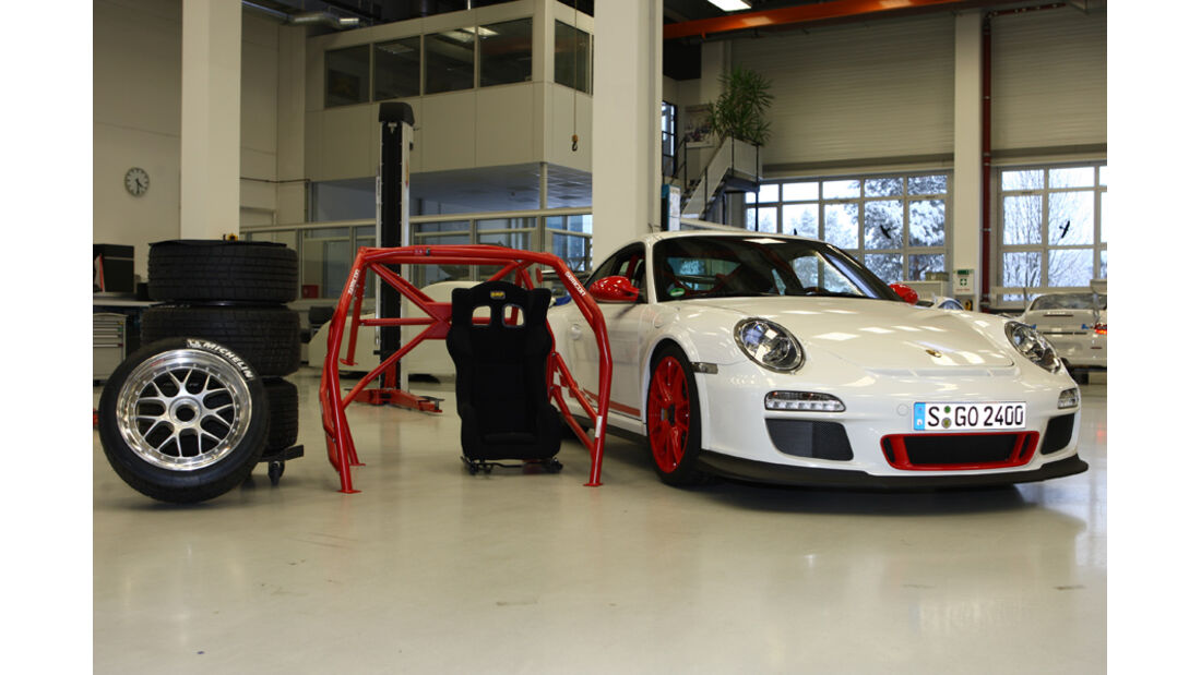 24h-Projekt 2010, Porsche GT3 RS
