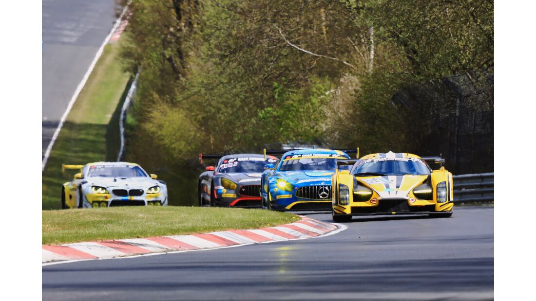 24h Qualirennen - Nürburgring - 23. April 2017