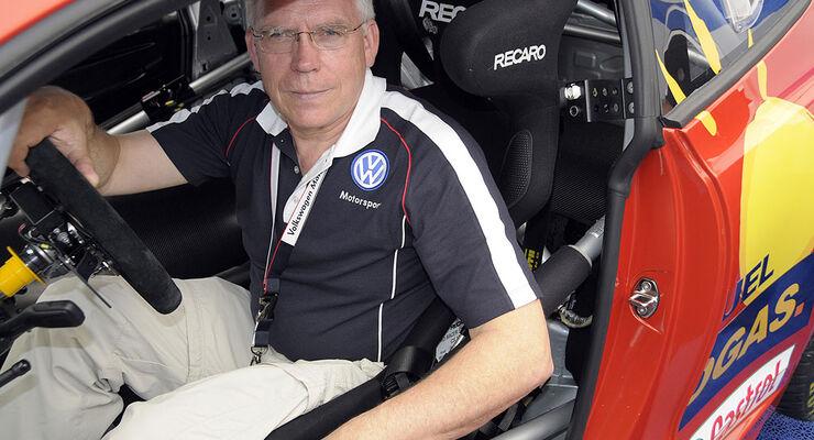 24h-Rennen 2009 Jürgen Hackenberg VW Scirocco GT24-CNG