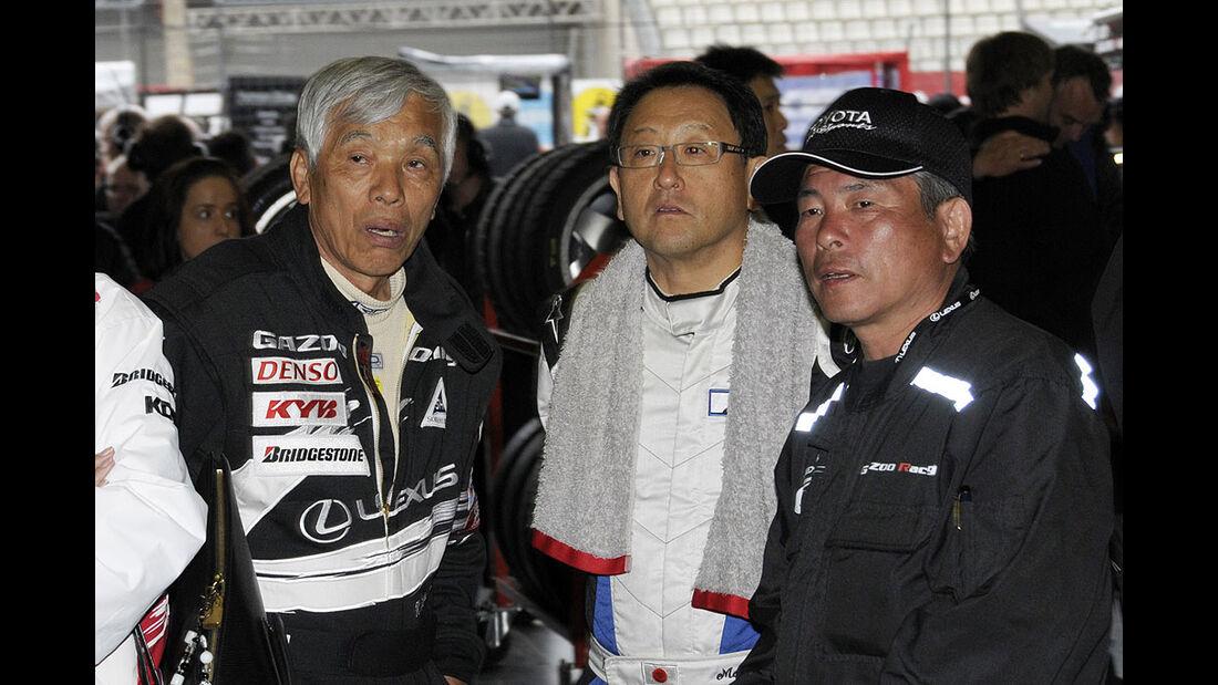 24h-Rennen 2009 Lexus LF-A Gazoo Racing Akio Toyoda Morizio