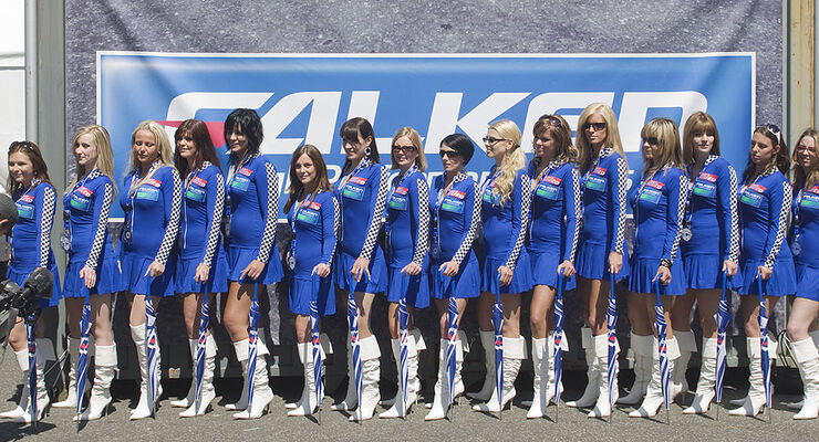 24h-Rennen 2009 Nürburgring Gridgirls