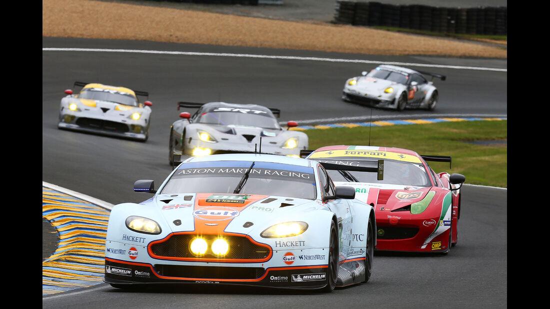 24h-Rennen Le Mans 2013, 12 Uhr