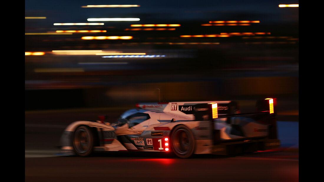 24h-Rennen Le Mans 2013, 24 Uhr