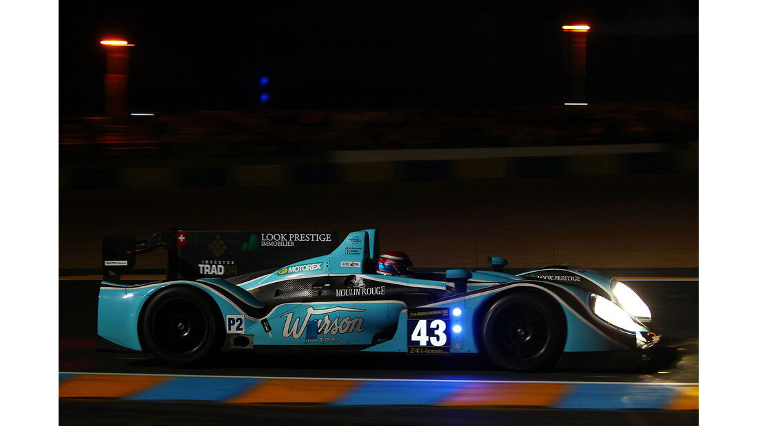 24h-Rennen Le Mans 2013, #43