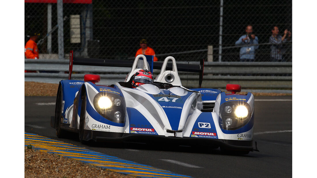 24h-Rennen Le Mans 2013, #47