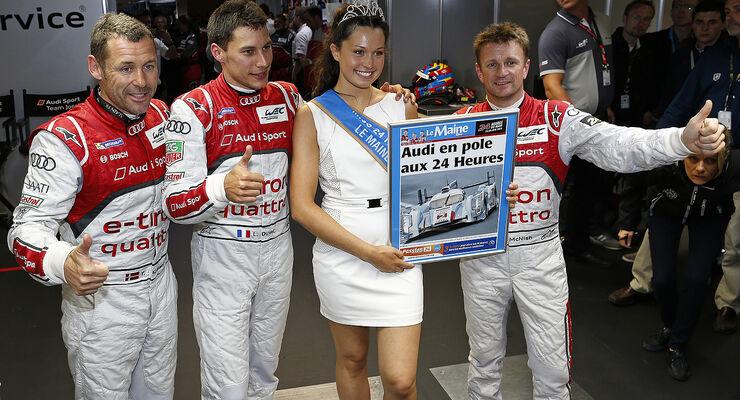 24h-Rennen Le Mans 2013, Pole-Foto