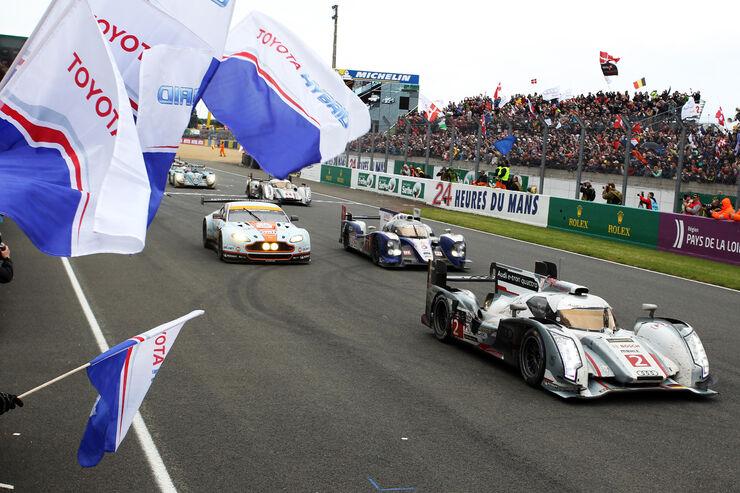 24h-Rennen Le Mans 2013, Siegerehrung