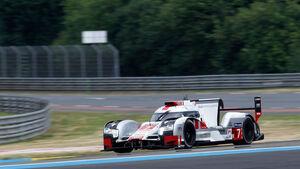 24h-Rennen Le Mans 2015 - Audi R18 etron quattro - Startnummer #7 - Donnerstag - 11.6.2015