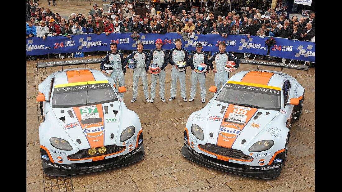 24h-Rennen LeMans 2012,Aston Martin Vantage V8, No.99, LMGTE Am