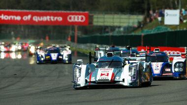 24h-Rennen LeMans 2012,Audi R18 Ultra, No.3, LMP1