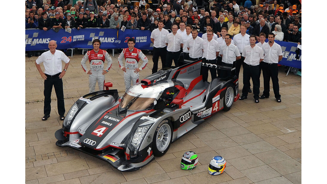24h-Rennen LeMans 2012,Audi R18 Ultra, No.4, LMP1
