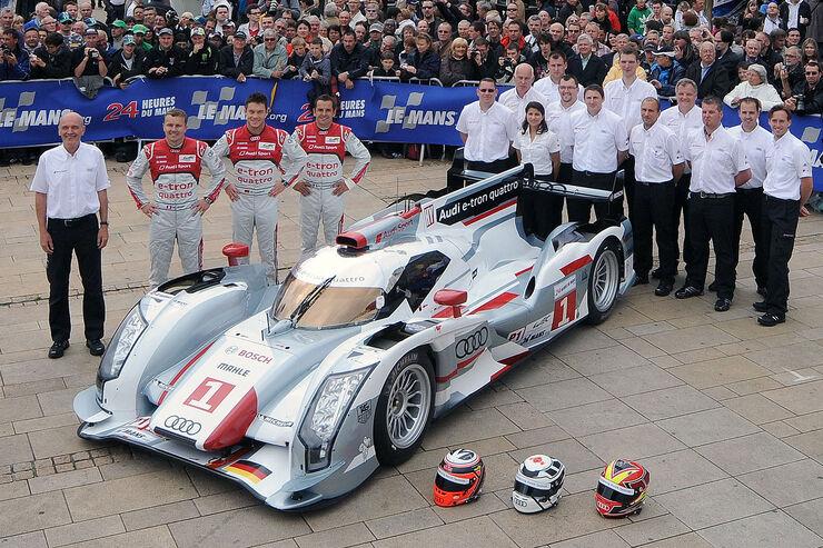 24h-Rennen LeMans 2012,Audi R18 e-tron quattro, No.1, LMP1