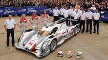 24h-Rennen LeMans 2012,Audi R18 e-tron quattro, No.2, LMP1