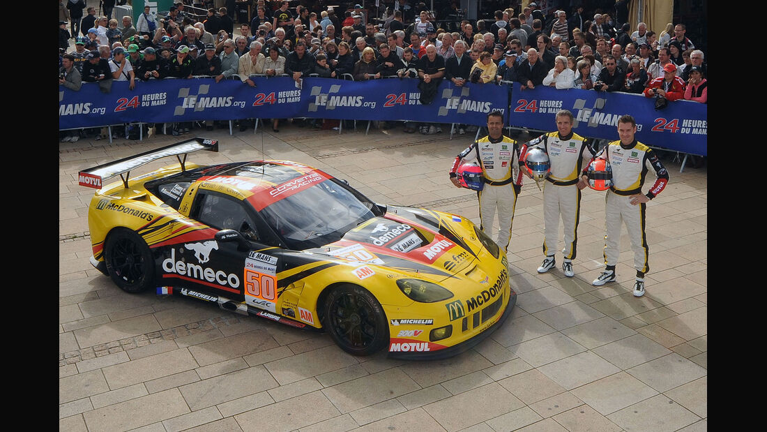 24h-Rennen LeMans 2012,Chevrolet Corvette C6 ZR1, No.50, LMGTE Am