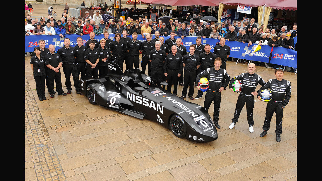 24h-Rennen LeMans 2012,Delta Wing Nissan, No.0, CDNT