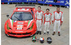 24h-Rennen LeMans 2012,Ferrari 458 Italia, No.58, LMGTE Am