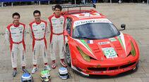 24h-Rennen LeMans 2012,Ferrari 458 Italia, No.59, LMGTE Pro