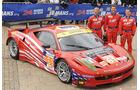 24h-Rennen LeMans 2012,Ferrari 458 Italia, No.61, LMGTE Am
