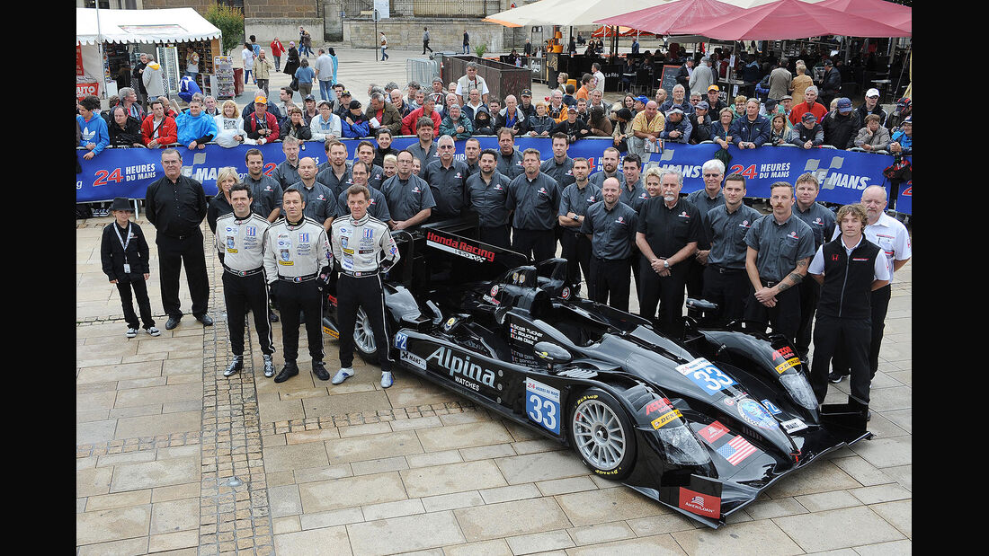 24h-Rennen LeMans 2012,HPD ARX 03b - Honda, No.33, LMP2
