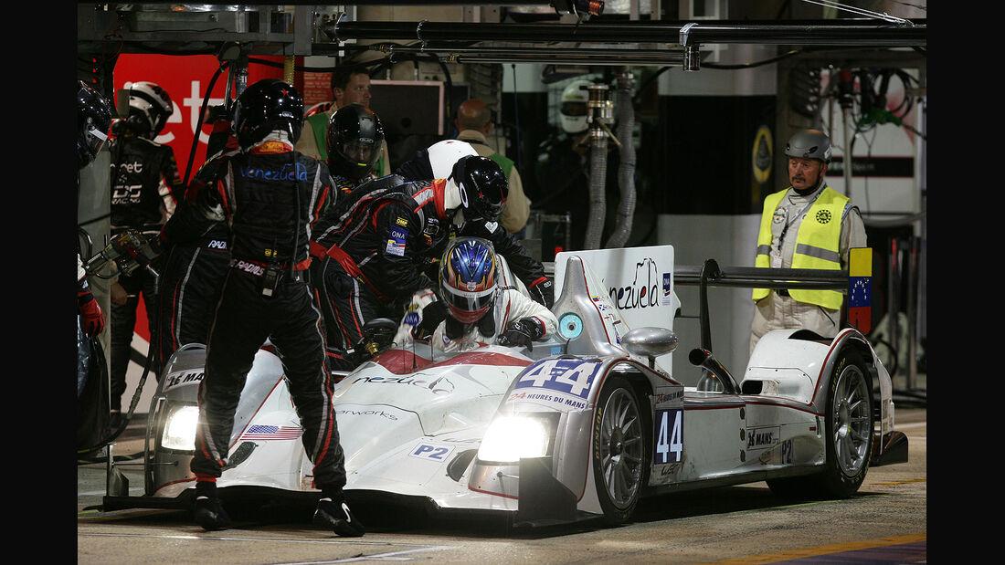 24h-Rennen LeMans 2012,HPD ARX 03b - Honda, No.44, LMP2