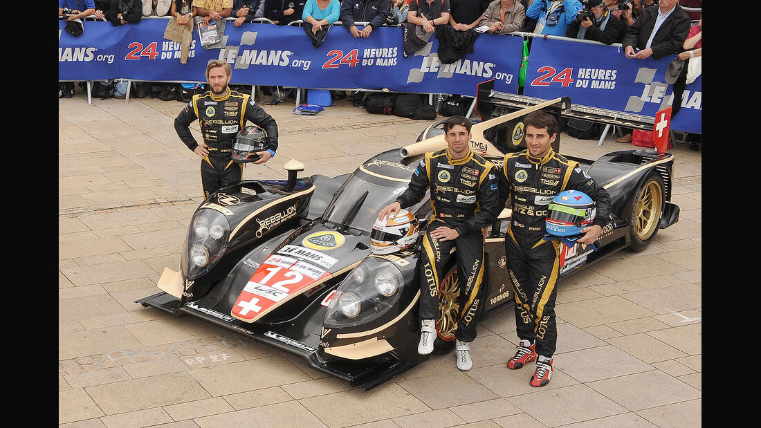 24h-Rennen LeMans 2012,Lola B12/60 Coupe - Toyota, No.12, LMP1